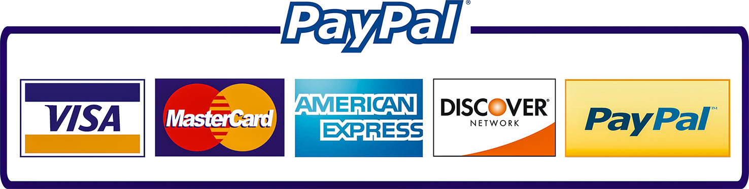 paypal credit cards horizontal